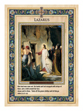 The Raising of Lazarus Giclee Print by Carl Bloch