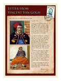 Letter from Vincent: Zouave Gicle-tryk af Vincent van Gogh