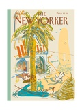 The New Yorker Cover - August 7, 1995 Regular Giclee Print by Javier Mariscal
