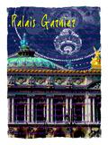 Palais Garnier Paris, Opera House 4 Giclee Print by Victoria Hues