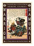 Samurai Saito Tatsuoki Giclee Print by Kuniyoshi Utagawa