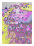 Proverbs 17:9 Giclee Print by Cathy Cute