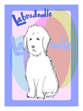 Labradoodle 1 Giclee Print by Cathy Cute