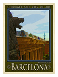 Barcelona Spain 6 Giclee Print by Anna Siena