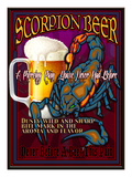 Scorpion Beer Giclee Print by Nomi Saki