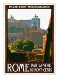 Roma Italy 2 Giclee Print by Anna Siena