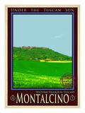 Montalcino Tuscany 3 Giclee Print by Anna Siena
