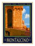 Wine Museum, Montalcino Tuscany 2 Giclee Print by Anna Siena