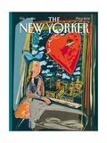 The New Yorker Cover - February 14, 1994 Regular Giclee Print by Javier Mariscal