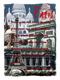 Paris France 4 Giclee Print by Victoria Hues