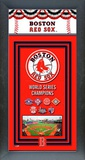 Boston Red Sox Framed Championship Banner Framed Memorabilia