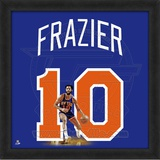 Walt Frazier, Knicks  Representation of the player's jersey Framed Memorabilia