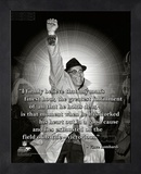 Vince Lombardi ProQuote Framed Memorabilia