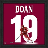 Shane Doan, Coyotes representation of the player's jersey Framed Memorabilia