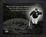 Casey Stengel, New York Mets, ProQuote Framed Memorabilia