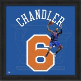 Tyson Chandler, Knicks  Representation of the player's jersey Framed Memorabilia