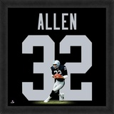 Marcus Allen, Raiders representation of the player's jersey Framed Memorabilia