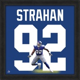 Michael Strahan, Giants representation of the player's jersey Framed Memorabilia