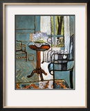 Forget-Me-Nots in the Window Impressão giclée emoldurada por Henri Matisse