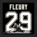 Marc-Andre Fleury, Penguins representation of the player's jersey Framed Memorabilia
