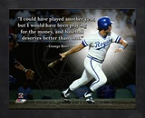 George Brett, Kansas City Royals, ProQuote Framed Memorabilia