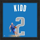 Jason Kidd, Mavericks representation of the player's jersey Framed Memorabilia