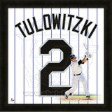 Troy Tulowitzki, Rockies representation of the player's jersey Framed Memorabilia