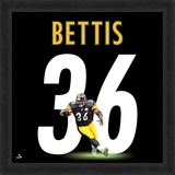 Jerome Bettis, Steelers representation of the player's jersey Framed Memorabilia