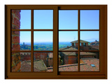 View from the Window at Siena, Tuscany Giclee Print by Anna Siena