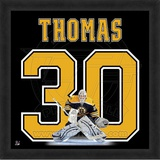 Tim Thomas, Bruins photographic representation of the player's jersey Framed Memorabilia