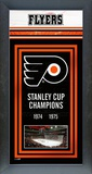 Philadelphia Flyers Framed Championship Banner Framed Memorabilia