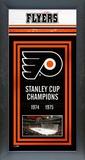 Philadelphia Flyers Framed Championship Banner Framed Memorabilia