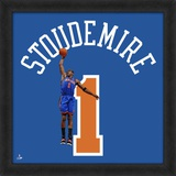 Amare Stoudemire, Knicks  Representation of the player's jersey Framed Memorabilia