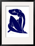Blue Nude II Prints by Henri Matisse