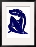 Nu azul II Posters por Henri Matisse