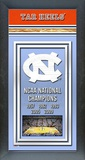 University of North Carolina Tar Heels Framed Championship Banner Framed Memorabilia