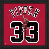 Scottie Pippen, Bulls  Representation of the player's jersey Framed Memorabilia
