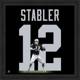 Ken Stabler, Raiders representation of the player's jersey Framed Memorabilia