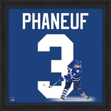 Dion Phaneuf, Maple Leafs representation of the player's jersey Framed Memorabilia
