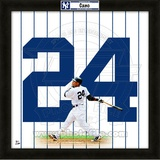 Robinson Cano, Yankees representation of the player's jersey Framed Memorabilia