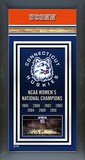 University of Connecticut Huskies Framed Champions Banner Framed Memorabilia