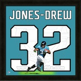 Maurice Jones-Drew, Jaguars representation of the player's jersey Framed Memorabilia