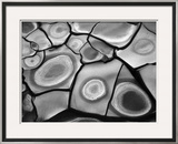 Cracked Mud, 1969 Framed Photographic Print by Brett Weston