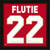 Doug Flutie, Boston College representation of the player's jersey Framed Memorabilia