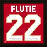 Doug Flutie, Boston College representation of the player's jersey Framed Memorabilia
