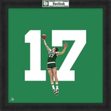 John Havlicek, Celtics  Representation of the player's jersey Framed Memorabilia