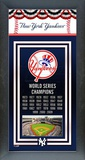 New York Yankees Framed Championship Banner Framed Memorabilia