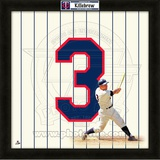 Harmon Killebrew, Twins representation of the player's jersey Framed Memorabilia