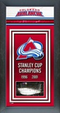 Colorado Avalanche Framed Championship Banner Framed Memorabilia
