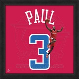 Chris Paul, Clippers  Representation of the player's jersey Framed Memorabilia